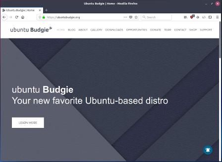 Ubuntu Budgie uses Firefox again
