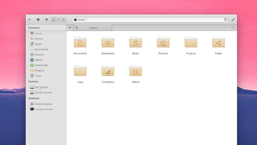 elementary os june beta 2: manila folder icons