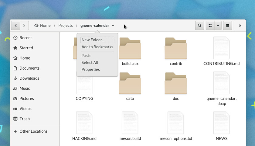 GNOME 3.30 Features - Nautilus