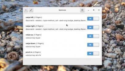 create touchpad gestures on Ubuntu