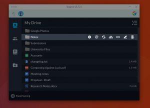 insync 1.5 app window
