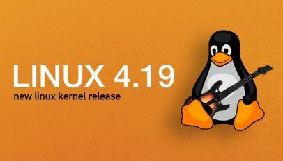 Linux 4.19 kernel release