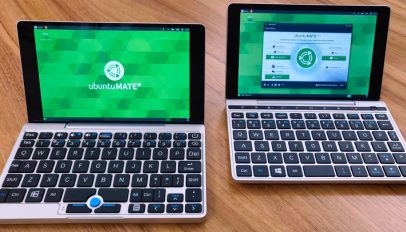 Ubuntu MATE 18.10 running on the GPD Pocket and GPD Pocket 2