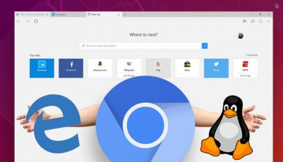 Microsoft edge chromium and linux