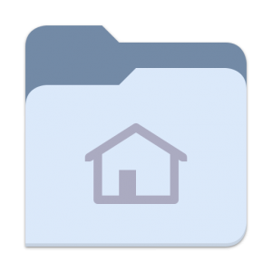 blue folder icon png