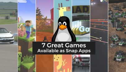 Linux games available on the Snap store