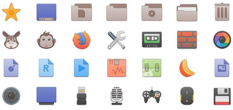 the newaita icon theme for linux