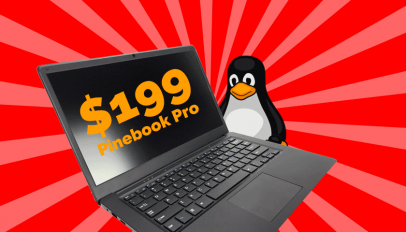 pinebook pro costs $199