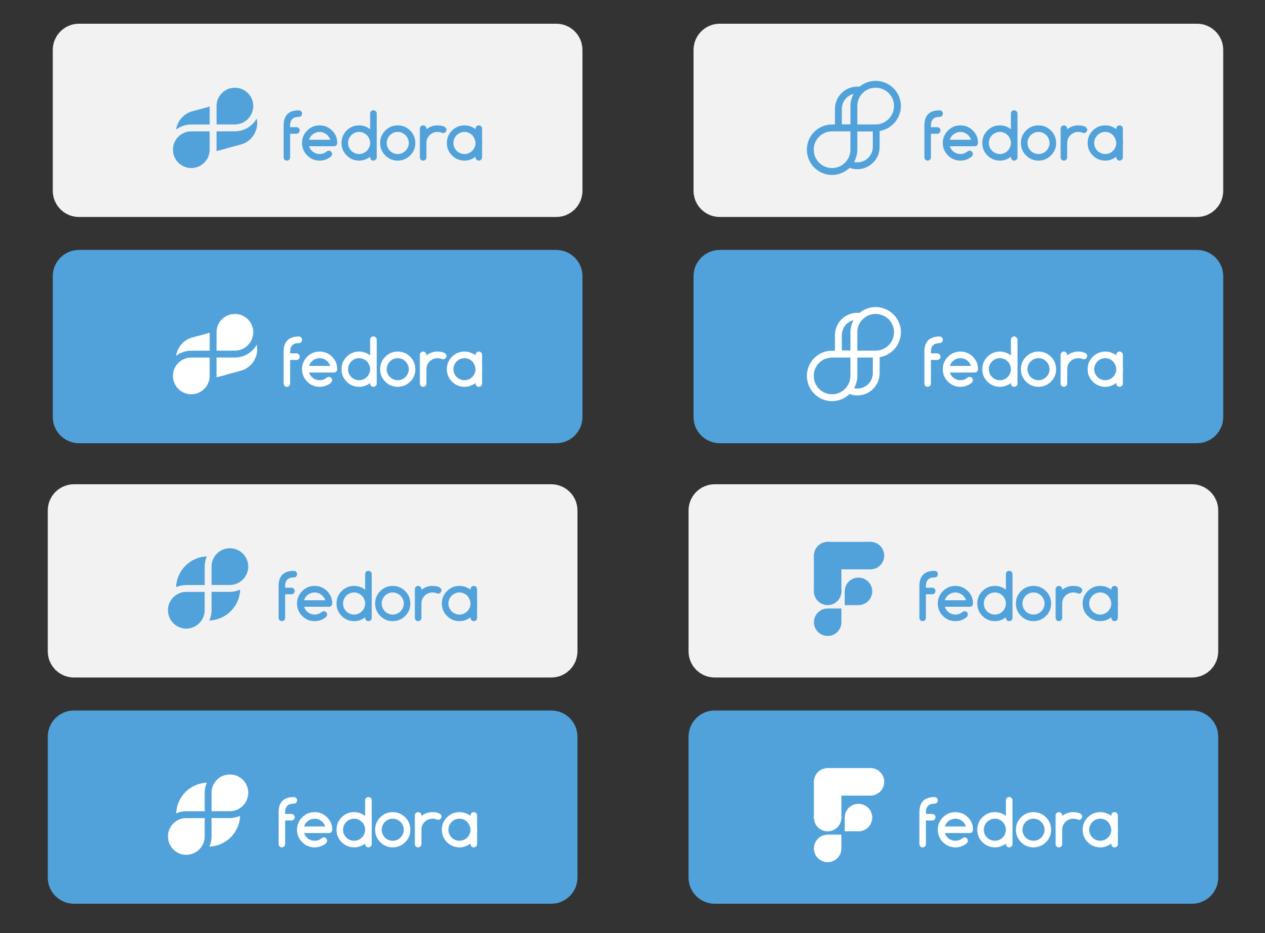 proposed fedora logos