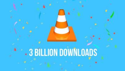 vlc just hit 3 billion downloads