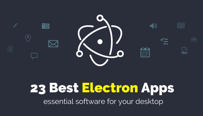 list of the best electron apps