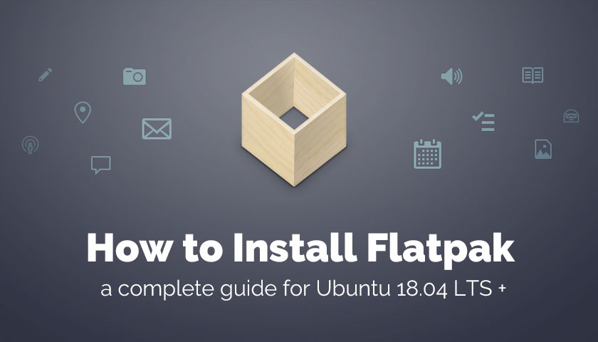 How to install flatpak