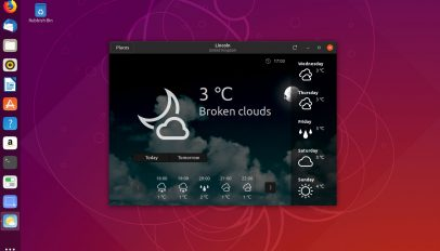 GNOME Weather App 3.32