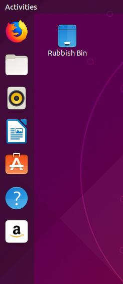 The ubuntu launcher
