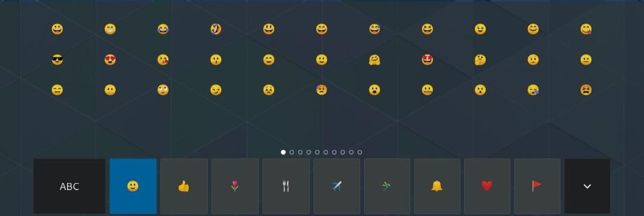 gnome 3.22 emoji keyboard