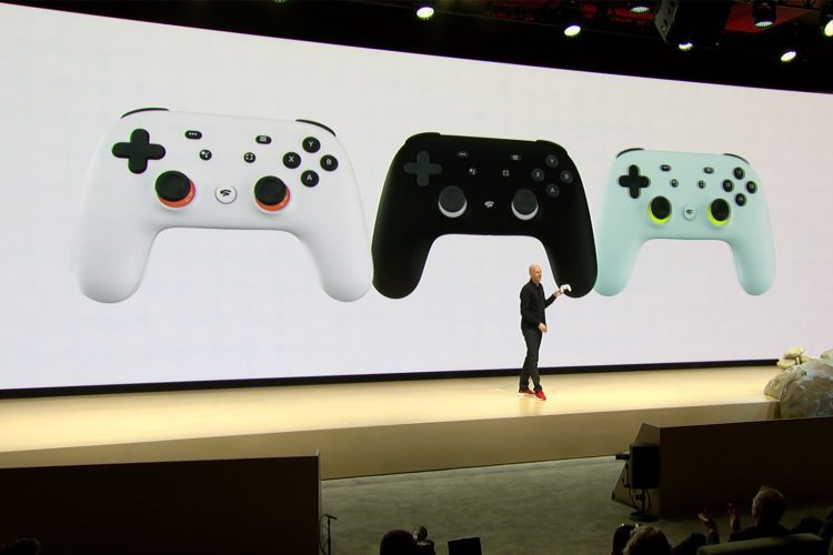 A look at the stadia controller