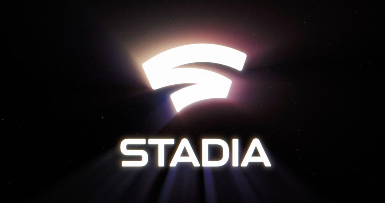 Google Stadia glowing logo