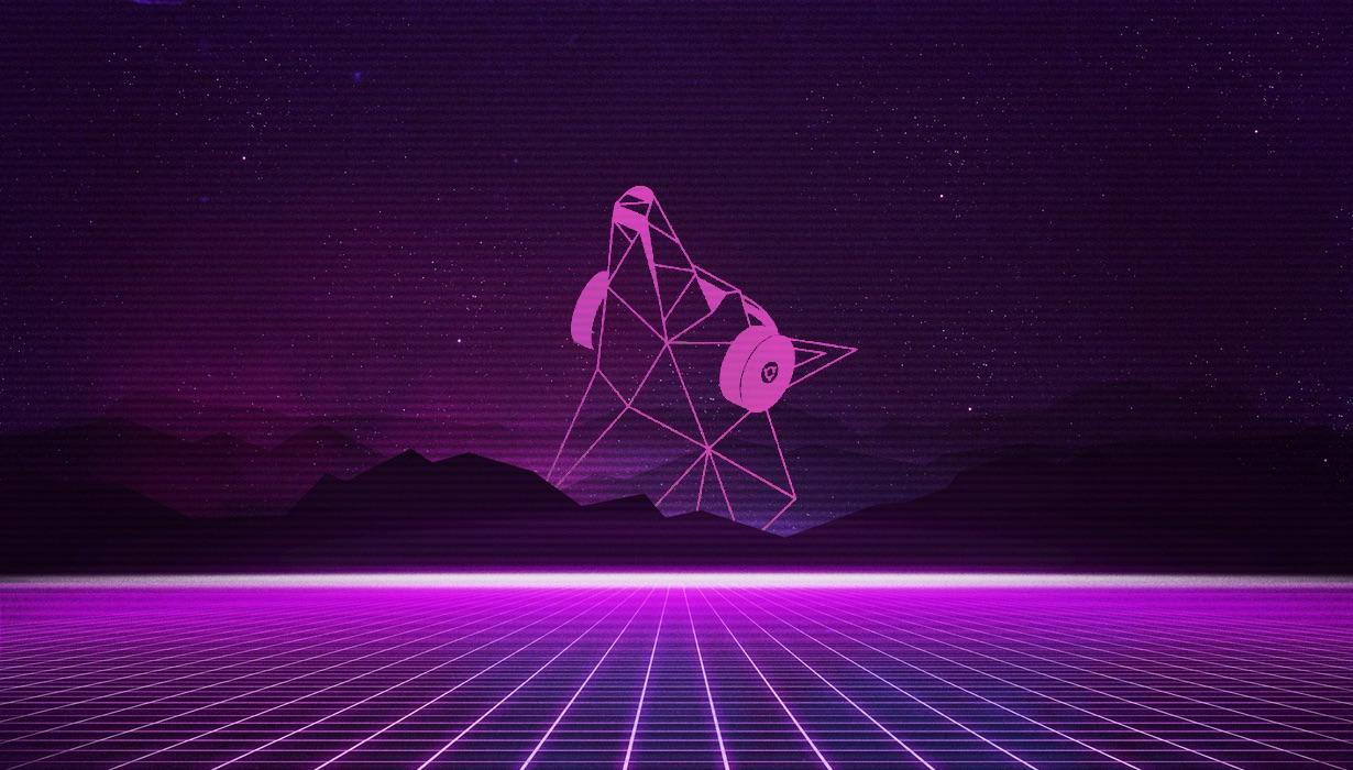 neon disco dingo