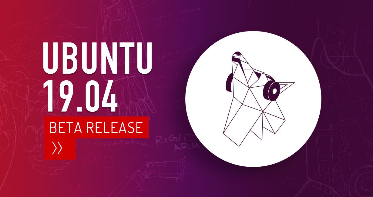 ubuntu disco beta dingo