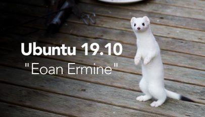 eoan ermine ubuntu 19.10 codename