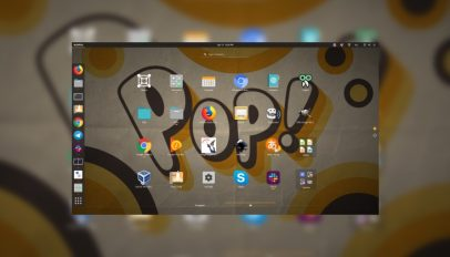 pop os 19.04 desktop screenshot