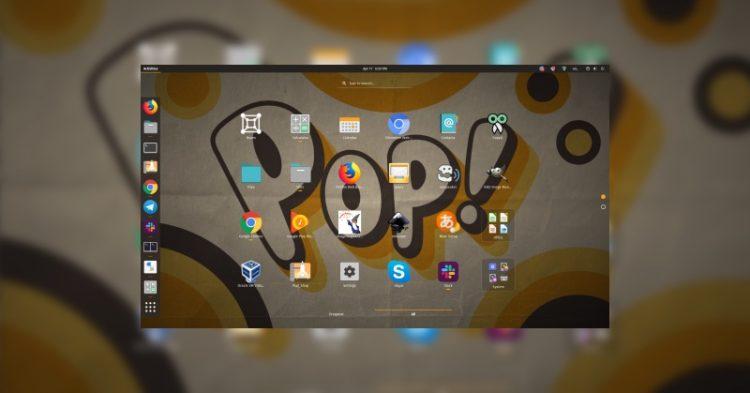 pop os 19.04 desktop screenshot