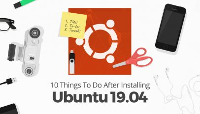 things to do after installing Ubuntu 19.04 disco dingo