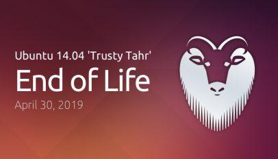 Ubuntu 14.04 EOL