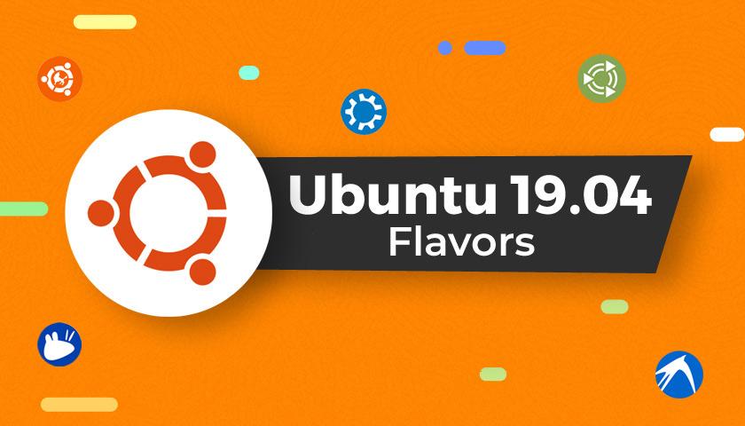 ubuntu 19.04: flavors