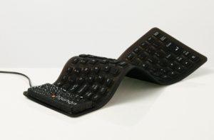 Ubuntu keyboard that rolls up