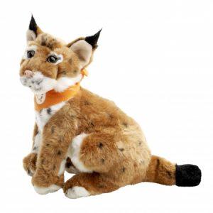 a lynx cat cuddly toy