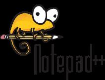 notepad++ logo orange