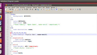 notepad++ on ubuntu