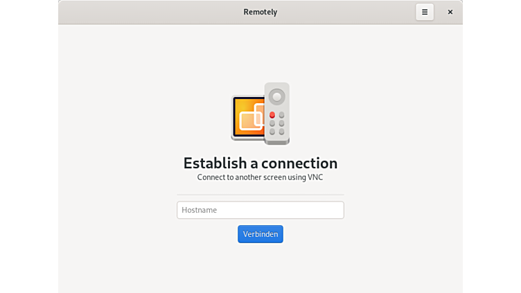 remotely vnc viewer app for ubuntu linux