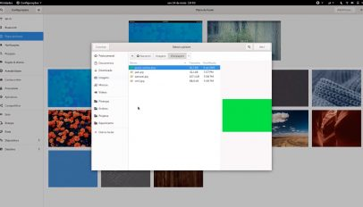 GNOME 3.34 wallpaper picker dialog