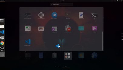 app folders gnome shell 3.34