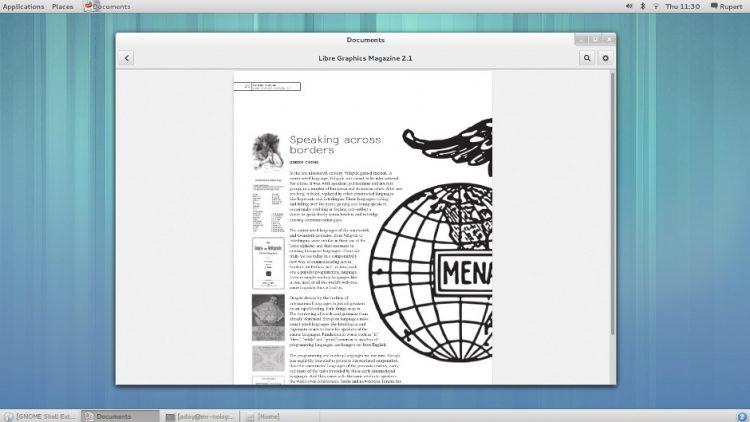 GNOME Classic in GNOME 3.8