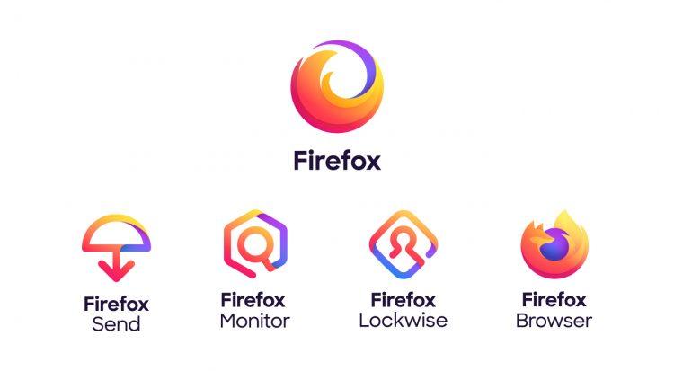 new firefox logo family