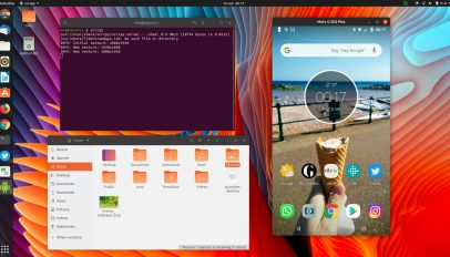 Mirror Android screen on Ubuntu desktop