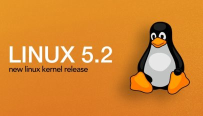 Linux Kernel 5.2 Release with Tux Penguin