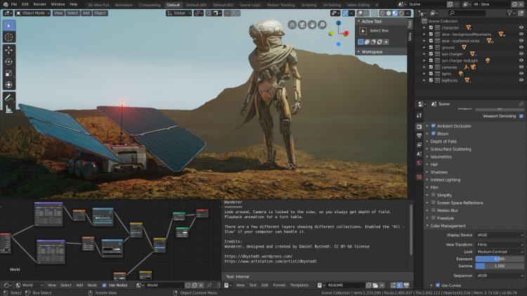 Blender 2.80 screenshot