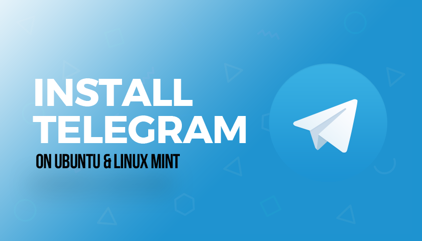 install telegram on ubuntu