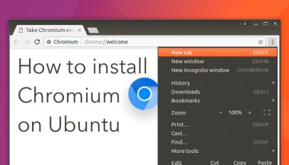 installing chromium on ubuntu