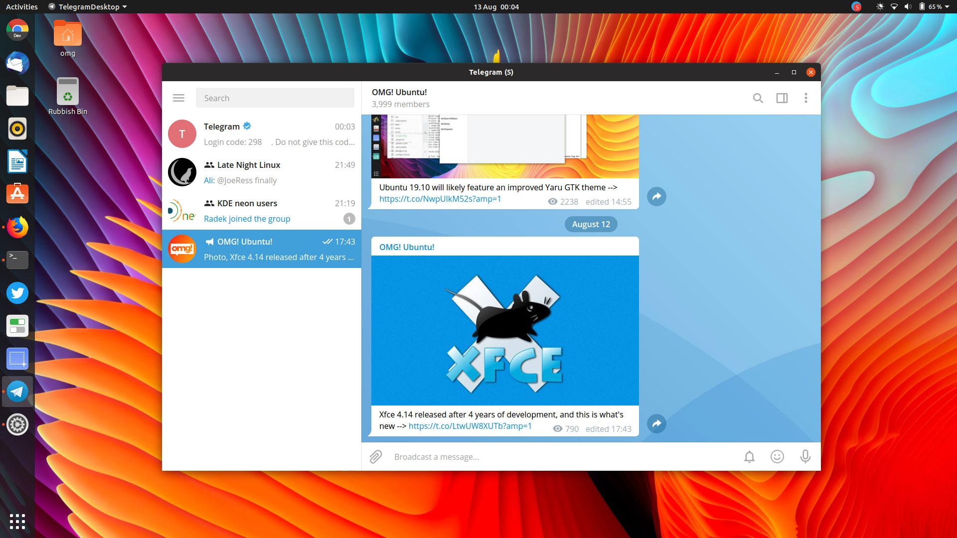"""Kaip įdiegti """"Telegram Messenger"""" programą """"Linux"""""""
