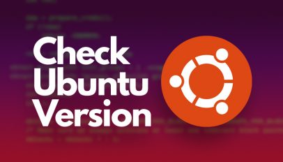 Check Ubuntu Version