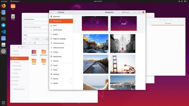 a screenshot of windows open on a desktop