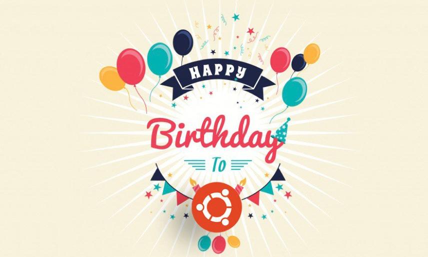 Happy 15th Birthday, Ubuntu!