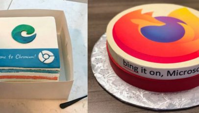 firefox browser cake