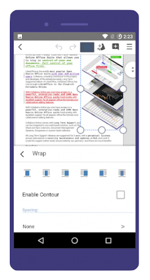 Collabora Office Screenshot