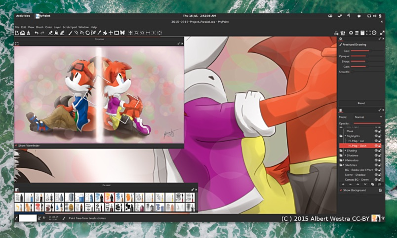 Open Source Graphics App MyPaint 2.0 Released with Major Improvements - OMG! Ubuntu!